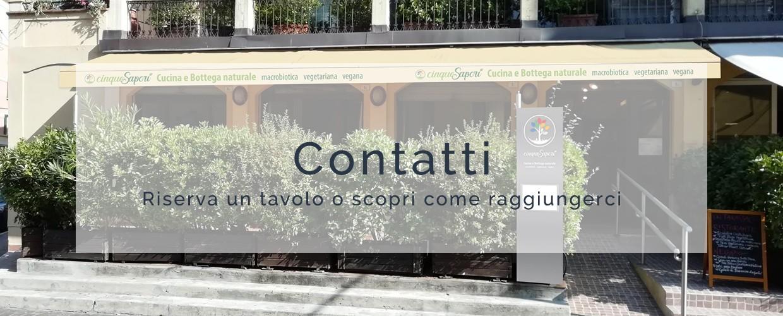 cinque sapori ristorante macrobiotico bologna contatti